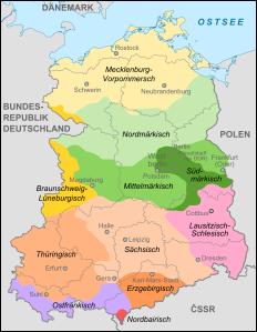 Dialekte in Deutschland